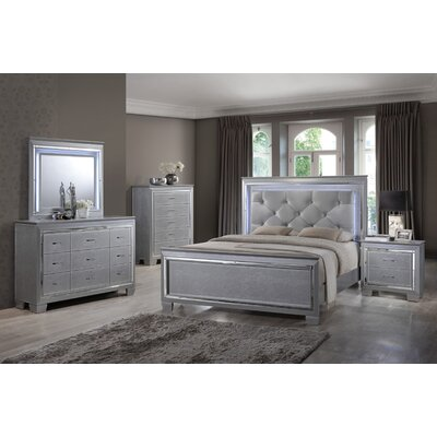 Best Quality Furniture Panel 4 Piece Bedroom Set