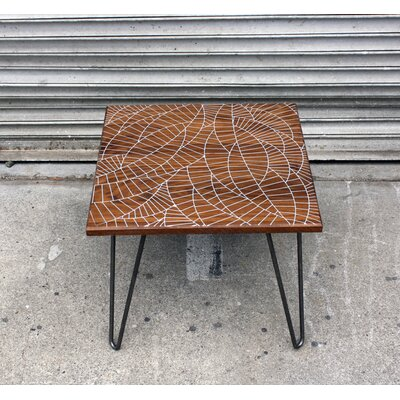 Dave Marcoullier Wood Routings Coffee Table
