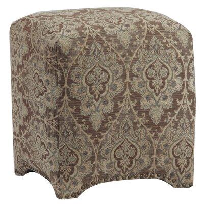 Leffler Home Emma Upholstered Nailhead Cube Ottoman