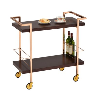 Design Guild Rolling Serving Cart