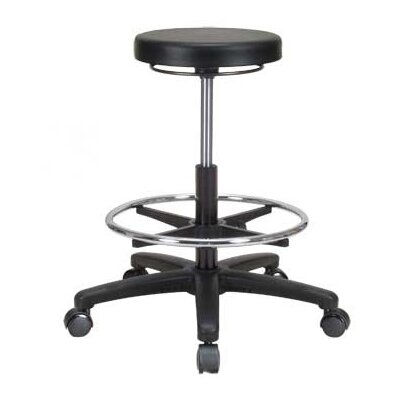 Perch Chairs & Stools Height Adjustable Lab Work Stool with Foot Ring