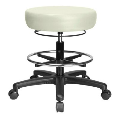 Perch Chairs & Stools Height Adjustable Medical Stool with Foot Ring
