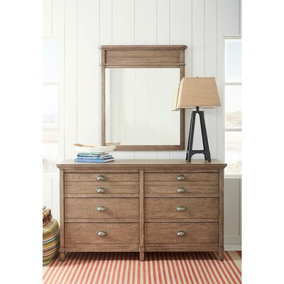 Stone & Leigh™ by Stanley Furniture Driftwood Park 6 Drawer Double Dress..