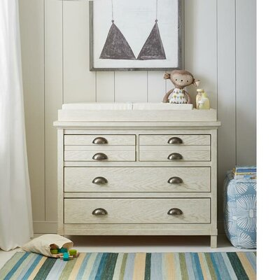 Stone & Leigh™ by Stanley Furniture Driftwood Park 4 Drawer Dresser