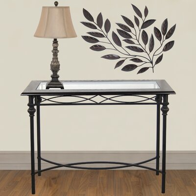 Homestyle Collection Console Table with Lamp Set