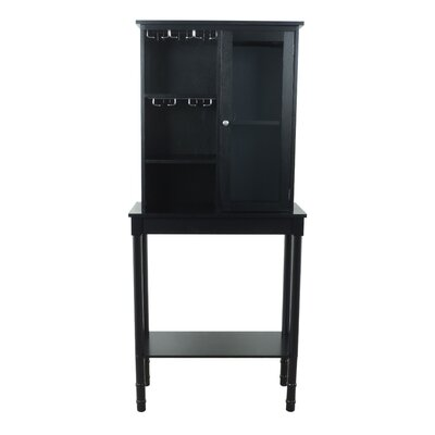 Homestyle Collection Floor Wine Cabinet
