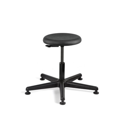 BEVCO Versa Height Adjustable Backless Stool with Mushroom Glides