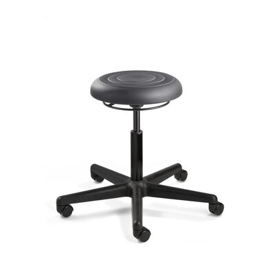 BEVCO ErgoLux Height Adjustable Backless Stool