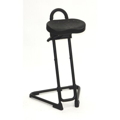 ShopSol Height Adjustable Sit Stand with Swivel Seat