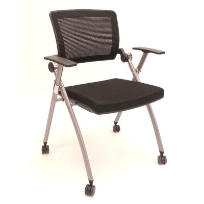 ShopSol Mid-Back Task Chair with Arms (Se..