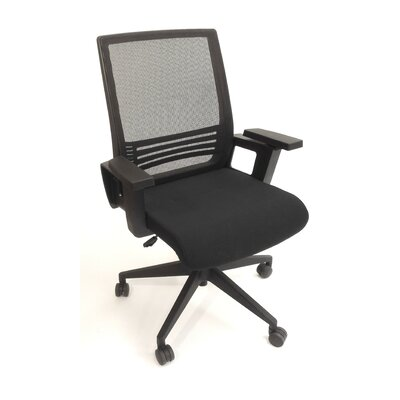 ShopSol Mid-Back Task Chair with Arms