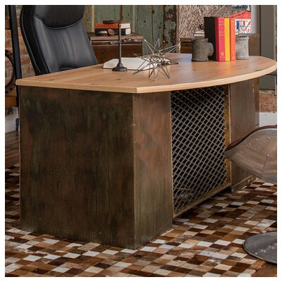 Urban 9-5 Bowfront Top Executive Desk