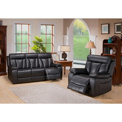Coja Plymouth Sofa and Recliner Set