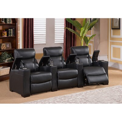 Coja Bristol Home Theater 3 Row Recliner