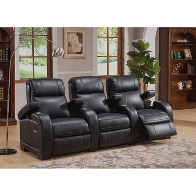 Coja Leeds Home Theater 3 Row Recliner