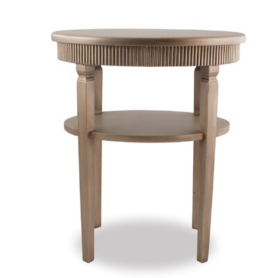 Split P End Table