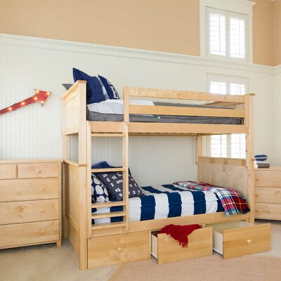 Jackpot! Bunk 6-Piece Bedroom Set