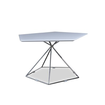 Ashcroft Imports Gentry Coffee Table in Stainless Steel