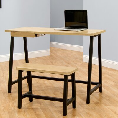 Calico Designs Writing Desk with Bench