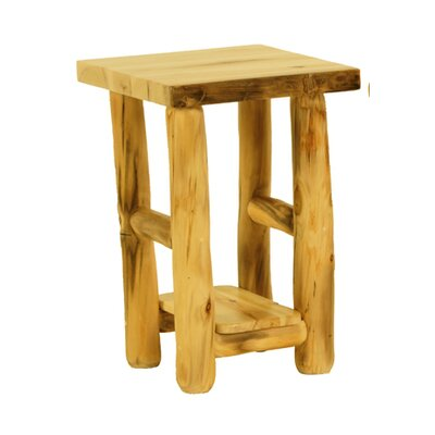 Mountain Woods Furniture Rustic Arts™™ End Table