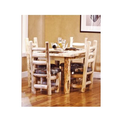 Mountain Woods Furniture Aspen Heirloom Dining Table