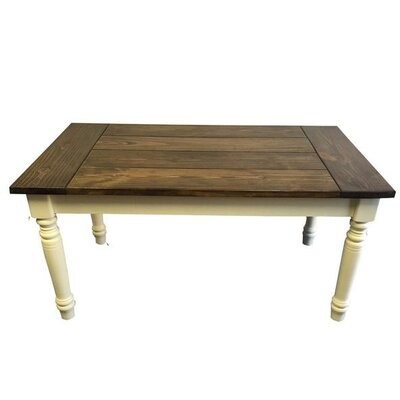 Ezekiel and Stearns English Farmhouse Dining Table