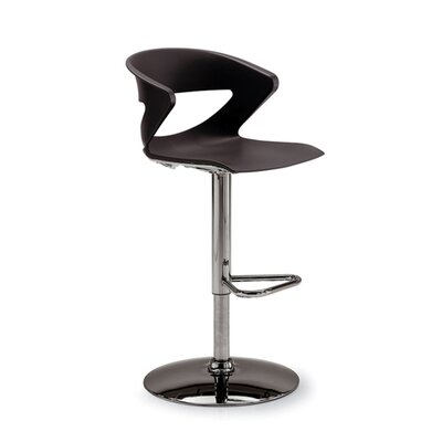 Gordon International Height Adjustable Kreature Pedestal Base Stool