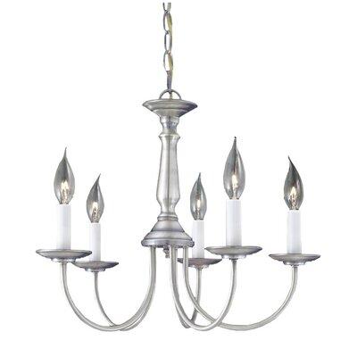 Thomas Lighting 5 Light Candelabra Chandelier & Reviews