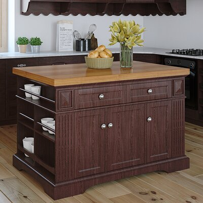 222 Fifth Furniture Greenwich Kitchen Island wit..
