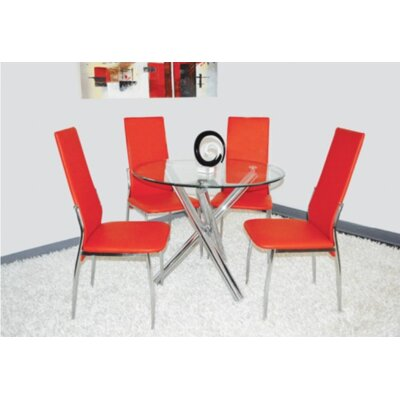The Collection German Furniture Carey Side Chair (Set of 4)