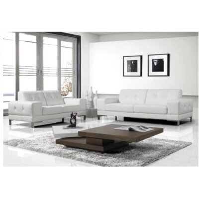 The Collection German Furniture Onda Sofa and Loveseat Set