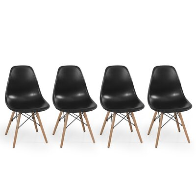Belleze Dowel Eames Side Chair (Set of 4)