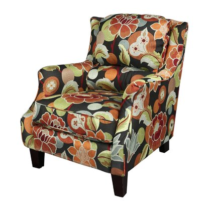 Porter International Designs Zoe Floral Club Chair