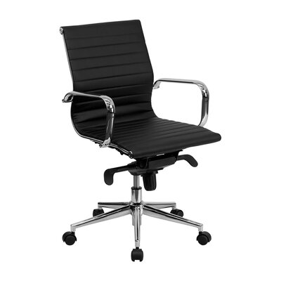 Offex Mid-Back Leather Conference Chair