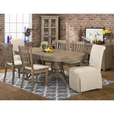 Laurel Foundry Modern Farmhouse Cannes Extendable Dining Table