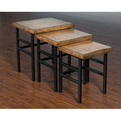 Laurel Foundry Modern Farmhouse Osmonde 3 Piece Nesting Tables