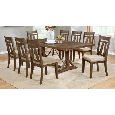 Laurel Foundry Modern Farmhouse Destiny 9 Piece Dining Set