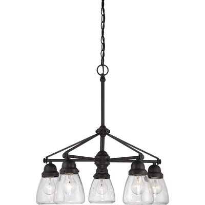 Laurel Foundry Modern Farmhouse Hansen 5 Light Chandelier