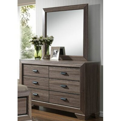 Laurel foundry modern farmhouse hannaford 6 drawer dresser - Laurel foundry modern farmhouse bedroom ...