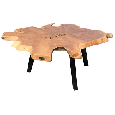 Chic Teak Teak Abstract Coffee Table