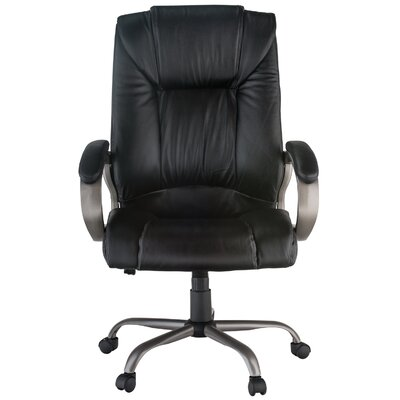 Harwick Furniture Height Adjustable Leather Executive Chair