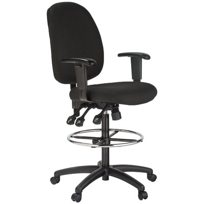 Harwick Furniture Height Adjustable Drafting Chair