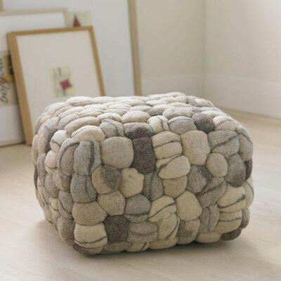 VivaTerra Soft Stone Pouf Ottoman