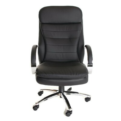 TimeOffice Furniture High-Back Leather Ex..