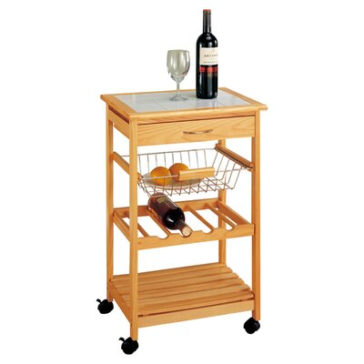 Organize It All Kitchen Cart