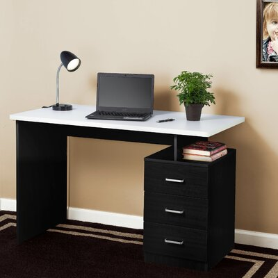 Fineboard Computer Desk with 3 Drawer