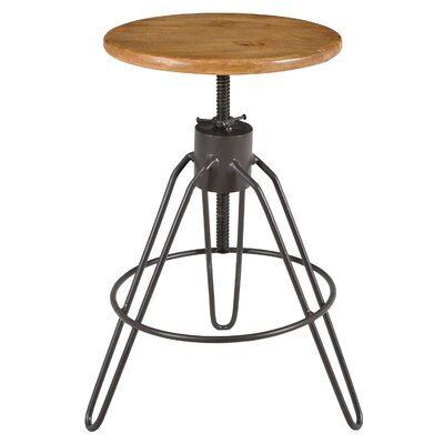 Caribou Dane Vox Adjustable Height Swivel Bar Stool
