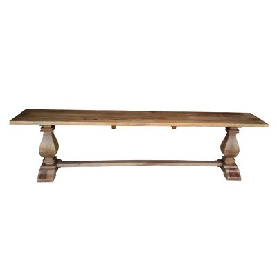 Caribou Dane Wood Kitchen Bench
