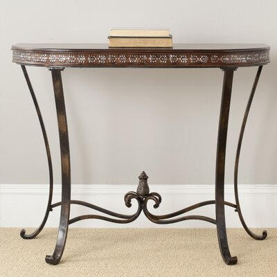Safavieh Richard Demilune Console Table
