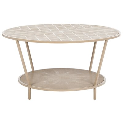 Mercer41 Cerium Coffee Table with Maga..